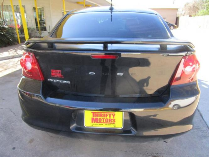 2011 Black Dodge Avenger (1B3BD4FB6BN) with an 2.4L I4 2.4L I4 engine, Automatic 4-Speed transmission, located at 4509 Highway 6 North, Houston, TX, 77084, (281) 859-4646, 29.848997, -95.645760 - Photo #2