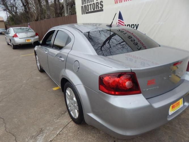 2014 Gray Dodge Avenger (1C3CDZAB1EN) with an 2.4L I4 2.4L I4 engine, Automatic 4-Speed transmission, located at 4509 Highway 6 North, Houston, TX, 77084, (281) 859-4646, 29.848997, -95.645760 - Photo #4