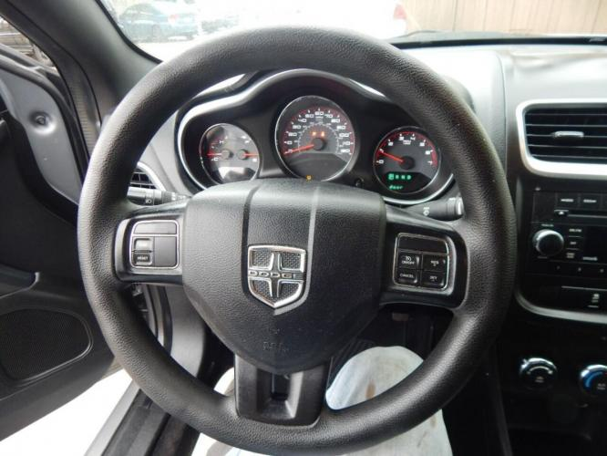 2014 Gray Dodge Avenger (1C3CDZAB1EN) with an 2.4L I4 2.4L I4 engine, Automatic 4-Speed transmission, located at 4509 Highway 6 North, Houston, TX, 77084, (281) 859-4646, 29.848997, -95.645760 - Photo #6
