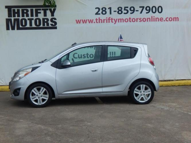 2014 Silver Chevrolet Spark (KL8CB6S94EC) with an 1.2L I4 1.2L I4 engine, CVT transmission, located at 4509 Highway 6 North, Houston, TX, 77084, (281) 859-4646, 29.848997, -95.645760 - Photo #0