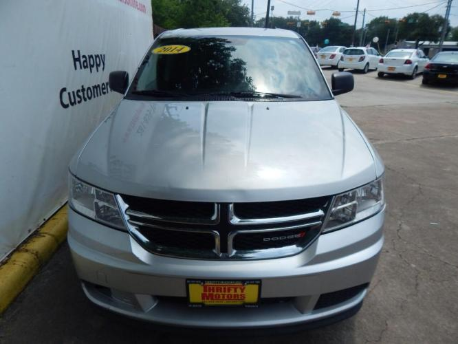 2014 Silver Dodge Journey (3C4PDCAB7ET) with an 2.4L I4 2.4L I4 engine, Automatic 4-Speed transmission, located at 4509 Highway 6 North, Houston, TX, 77084, (281) 859-4646, 29.848997, -95.645760 - Photo #5