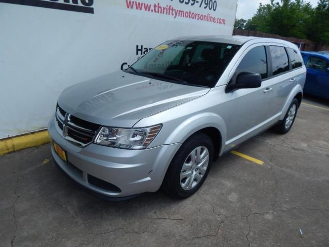 2014 Silver Dodge Journey (3C4PDCAB7ET) with an 2.4L I4 2.4L I4 engine, Automatic 4-Speed transmission, located at 4509 Highway 6 North, Houston, TX, 77084, (281) 859-4646, 29.848997, -95.645760 - Photo #7
