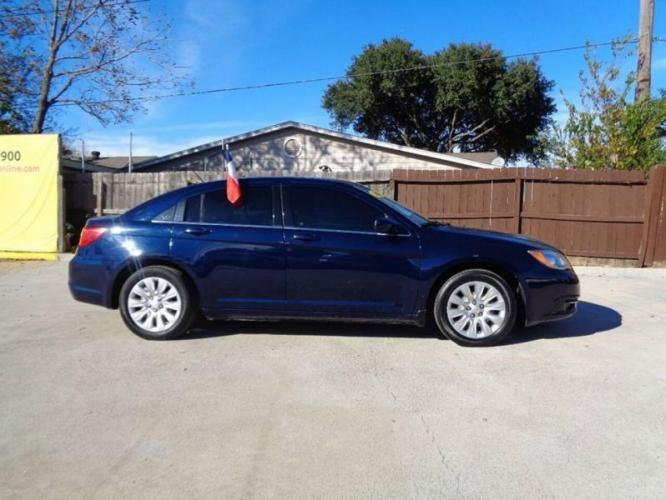 2014 Blue Chrysler 200 (1C3CCBAB6EN) with an 2.4L I4 2.4L I4 engine, Automatic 6-Speed transmission, located at 4509 Highway 6 North, Houston, TX, 77084, (281) 859-4646, 29.848997, -95.645760 - Photo #4