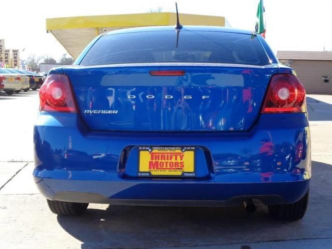 2014 Blue Dodge Avenger (1C3CDZAB8EN) with an 2.4L I4 2.4L I4 engine, Automatic 6-Speed transmission, located at 4509 Highway 6 North, Houston, TX, 77084, (281) 859-4646, 29.848997, -95.645760 - Photo #5