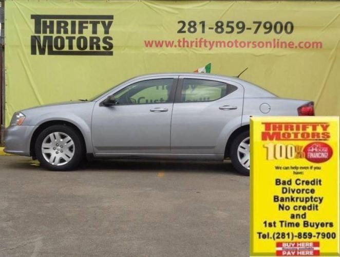2014 Pewter Dodge Avenger (1C3CDZAB9EN) with an 2.4L I4 2.4L I4 engine, Automatic 4-Speed transmission, located at 4509 Highway 6 North, Houston, TX, 77084, (281) 859-4646, 29.848997, -95.645760 - Photo #0
