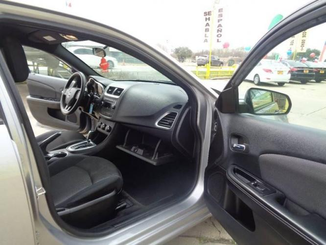 2014 Pewter Dodge Avenger (1C3CDZAB9EN) with an 2.4L I4 2.4L I4 engine, Automatic 4-Speed transmission, located at 4509 Highway 6 North, Houston, TX, 77084, (281) 859-4646, 29.848997, -95.645760 - Photo #15