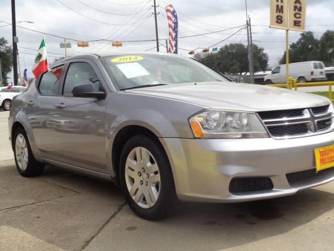 2014 Pewter Dodge Avenger (1C3CDZAB9EN) with an 2.4L I4 2.4L I4 engine, Automatic 4-Speed transmission, located at 4509 Highway 6 North, Houston, TX, 77084, (281) 859-4646, 29.848997, -95.645760 - Photo #3