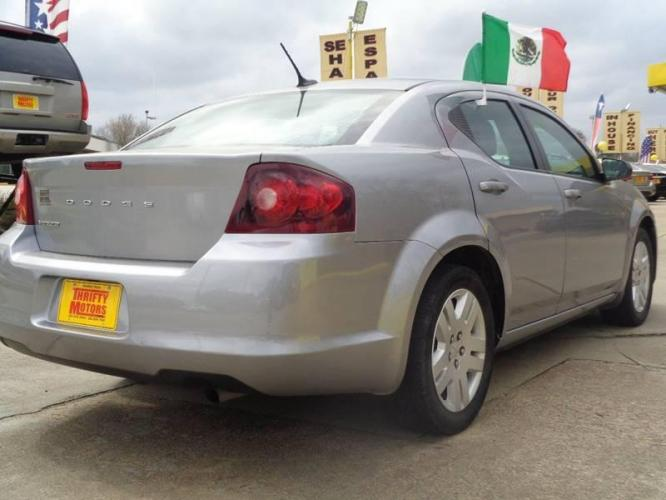 2014 Pewter Dodge Avenger (1C3CDZAB9EN) with an 2.4L I4 2.4L I4 engine, Automatic 4-Speed transmission, located at 4509 Highway 6 North, Houston, TX, 77084, (281) 859-4646, 29.848997, -95.645760 - Photo #4